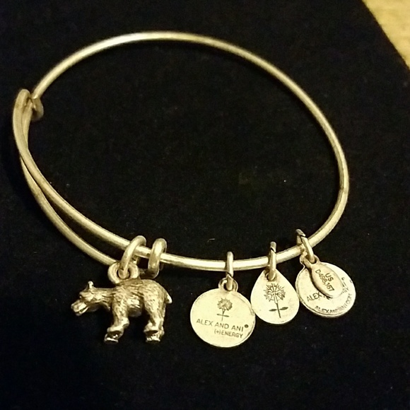 Alex and Ani Jewelry - Alex and Ani Bear bangle